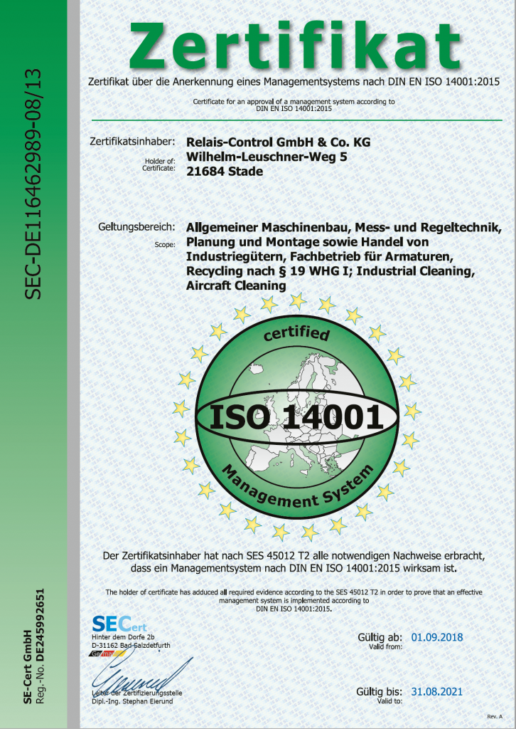 ISO 14001 - 2021
